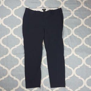 J. Crew City Fit dress pants capri black Sz 6